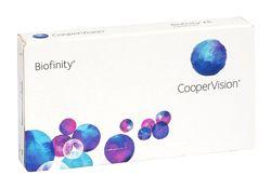 Акция на контактные линзы Biofinity