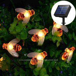 Садовые пчелки на солнечной батарее