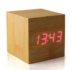 Электронные часы VST-869 WOODEN CLOCK