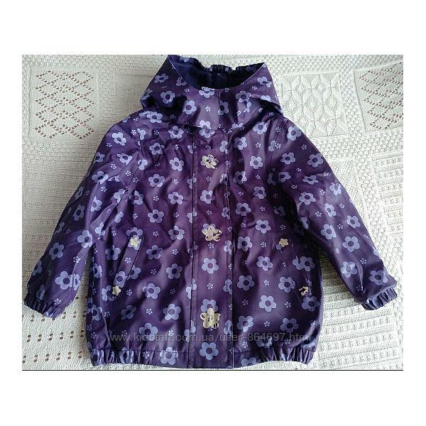 Непромокаемая куртка на флисе TCM Tchibo, 1.5-3 л, 86-94 см