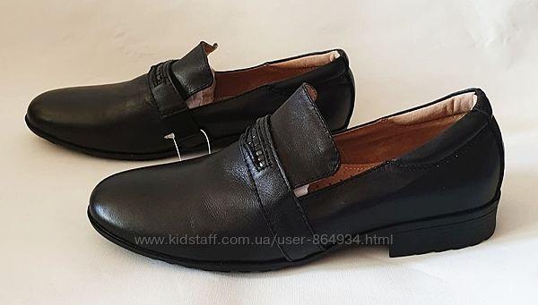 Распродажа. Последние. Туфли ТМ B & G кожаные чёрные. Новые