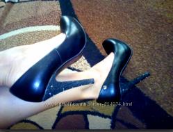 Новые Черные классические туфли kadina. 38 размер, 24 см стелька
