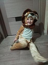 Новогодний костюм Львенка 2-3года