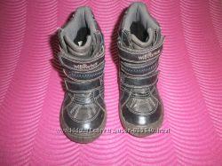 Демисезонные кожанные ботинки willowteх
