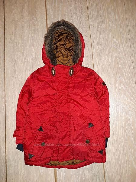 Яркая деми курточка Debenhams на 12-18 мес