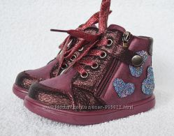 Ботинки демисезонные девочки. Jong Golf LadaBB. 20-25р. Модель M33