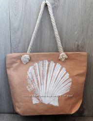 Ассортимент, женская пляжная, городская сумка с ракушкой, коттоновая