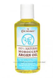 Cococare, 100 натуральное марокканское аргановое масло