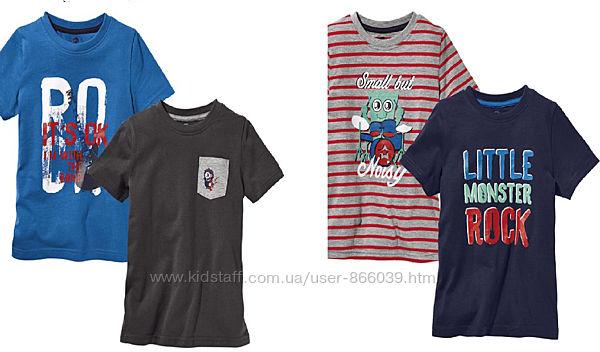 Набор футболок фірми Lupilu із Гермнії оригінал 110-116
