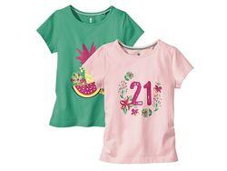 Набор футболок фірми Lupilu із Германії оригінал 98-104, 110-116