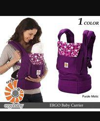 Эрго-рюкзак оригинал Ergo baby purple mistic переноска слинг