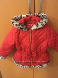 Красивая курточка для маленькой модницы на 2-3 года