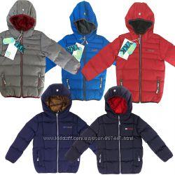 Детская демисезонная куртка для мальчика НАНО весна осень стеганая до -5С