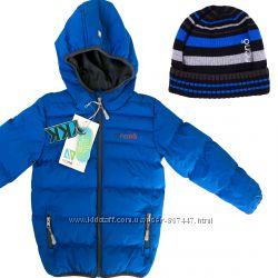 Стеганная детская демисезонная куртка для мальчика бренд НАНО весна осень