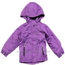 Детская демисезонная куртка, ветровка на флисе для девочки, бренд НАНО деми