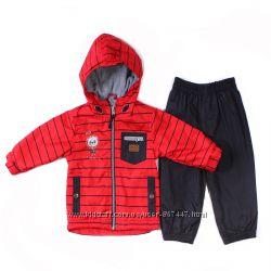 Детский деми комбинезон для мальчика куртка ветровка брюки бренд Пелюш НАНО