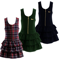 Школьный сарафан бордовый, черный синий, зеленый. Школьная форма на девочку
