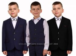 Школьный костюм для мальчика черный, синий.  Все размеры. Школьная форма