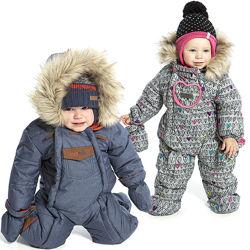 Детские зимние комбинезоны для девочек, мальчиков термо бренд НАНО, ПЕЛЮШ