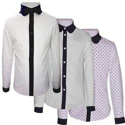 Нарядные школьные блузки. Школьная блузка рубашка 116-170. Школьная форма
