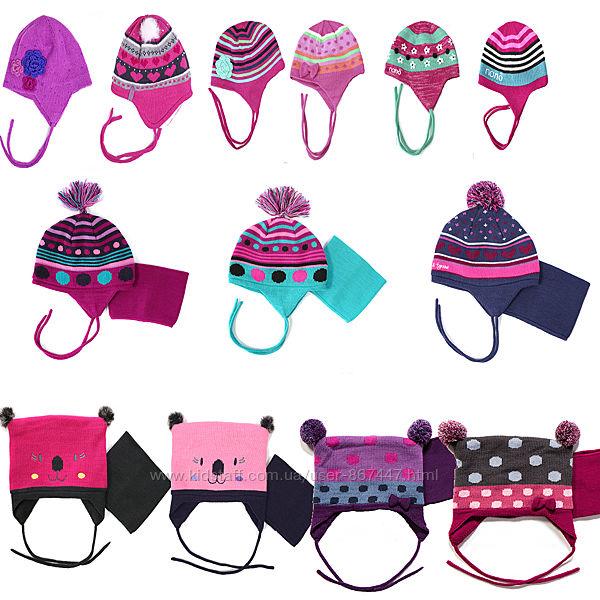 Распродажа маленьких размеров. Детские зимние шапки для девочек НАНО ПЕЛЮШ