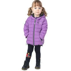 Стеганная детская куртка для девочки бренд НАНО NANO демисезон весна осень