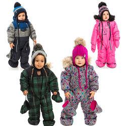 Детский зимний комбинезон для мальчика девочки термо бренд НАНО NANO ПЕЛЮШ