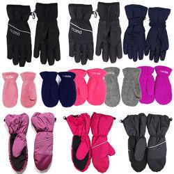 Детские зимние перчатки краги бренд НАНО ПЕЛЮШ СНО Канада непромокаемые