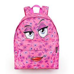 Хипстерский рюкзак Смайл розовый