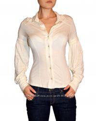 Loft супер рубашка блуза с пышными рукавами натурального состава из сша