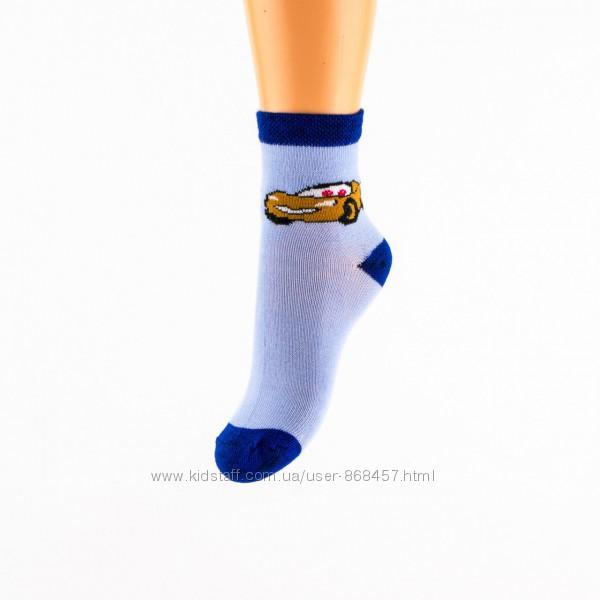 Носки для мальчика Тачки, Маквин 20-35 р