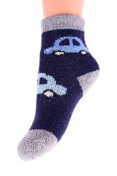 Шерстяные носочки детские внутри с махрой , 11-14 см