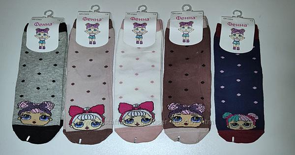 Носки для девочки Лол, LOL 14-16, 16-19 см