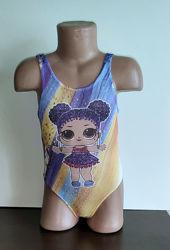 Купальник детский, для девочки Лол , LOL 3-8 лет.