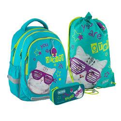 Набір рюкзак  пенал  сумка Kite Education Rachael Hale SETR20-700M
