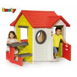 Дом На берегу моря со столом и звонком Smoby 810401
