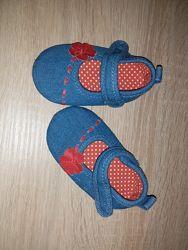 Пінетки туфельки сапожки на 3-6 міс