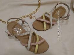 Распродажа Хит лето Кожаные сандалии босоножки Наличие