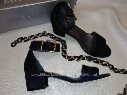 Распродажа Босоножки туфли летние замшевые Наличие Новая коллекция
