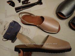 Распрода Хит Абаркасы менорки сандалии кожаные бежевые Наличие