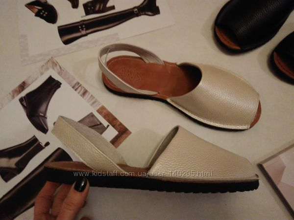 Хит Абаркасы менорки сандалии кожаные 36-41р Наличие