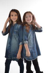 Легкое платье-рубашка фирмы Next 128-134 см