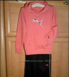Новый фирменный спортивный костюм PUMA на девочку р. 128