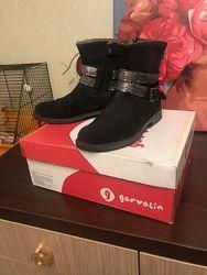 ботинки деми Garvalin девочке 35,5-36 р. как новые