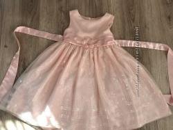 Нарядное платье с паетками, 5-6 лет, США