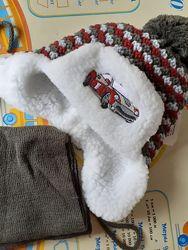 Зимняя шапка Польша 48-52 см