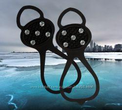 Накладки на обувь для ходьбы по снегу и льду