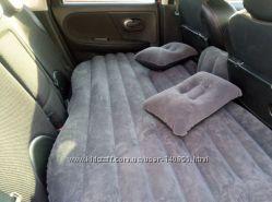 Автомобильный надувной матрас на заднее сидение авто