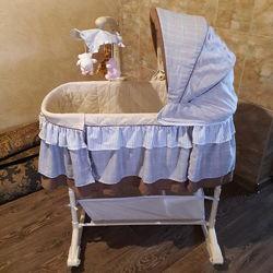 Люлька кроватка Milly Mally Sweet Melody  подарок