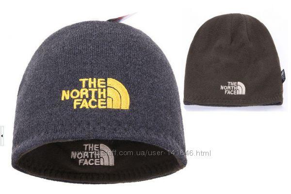 Зимние шапки двухсторонние The North Face -Jack Wolfskin